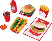 Набор игрушечных продуктов Hape Fast Food / E3160-HP -