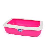 Туалет-лоток Duvo Plus Мауи / 211111/DV (розовый) -