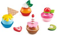 Набор игрушечных продуктов Hape Капкейки / E3157-HP -