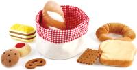 Набор игрушечных продуктов Hape Корзина хлеба / E3168-HP -