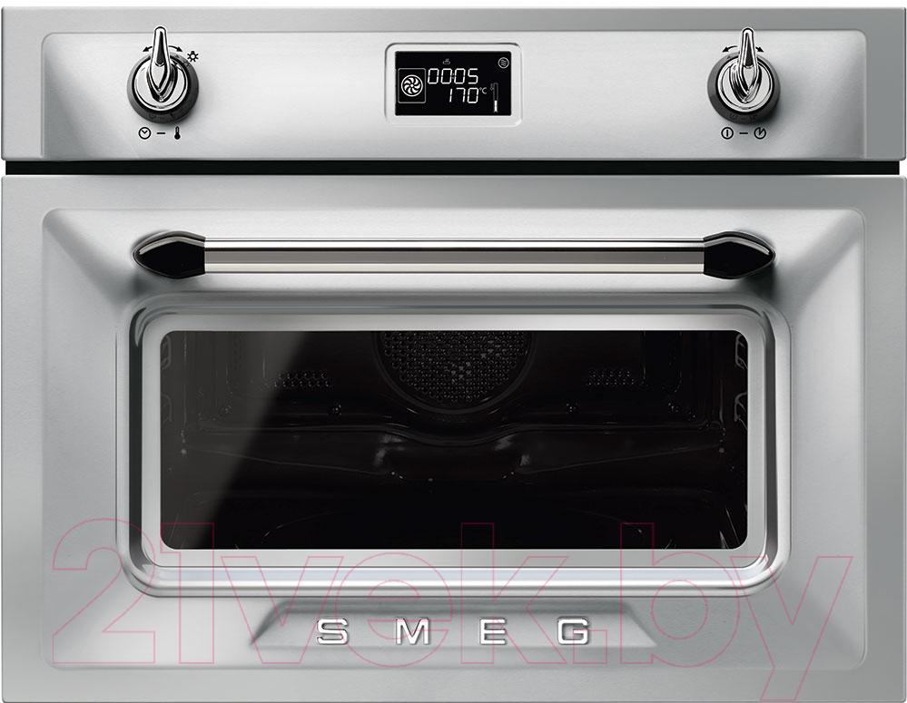 Купить Электрический духовой шкаф Smeg, SF4920MCX1, Италия