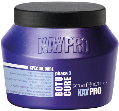 Маска для волос Kaypro Special Care Botu-Cure для сильно поврежденных волос (500мл)