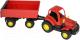 Трактор игрушечный Полесье Крепыш №1 с прицепом / 44792 -