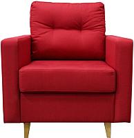 Кресло мягкое КВАДРАТoff Трэвэл-1 с пружинным блоком (ПР60) -