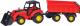 Трактор игрушечный Полесье Мастер №1 с прицепом и ковшом / 35264 -