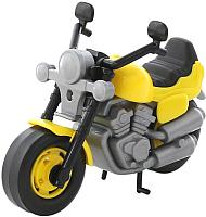 Мотоцикл игрушечный Полесье Байк / 8978 (желтый) -