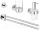 Набор аксессуаров для ванной GROHE Essentials 40846001 -