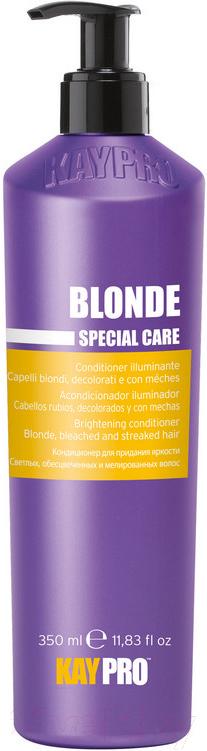 Купить Кондиционер для волос Kaypro, Special Care Blonde для светлых осветленных и мелирован. волос (350мл), Италия, Blonde Special Care (Kaypro)