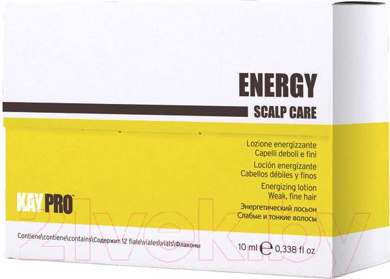 Купить Ампулы для волос Kaypro, Scalp Care Energy против выпадения для слабых и тонких волос (12x10мл), Италия