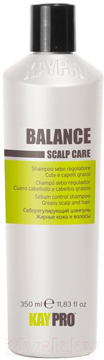 Купить Шампунь для волос Kaypro, Scalp Care Balance cебум-контроль для жирной кожи головы и волос (350мл), Италия