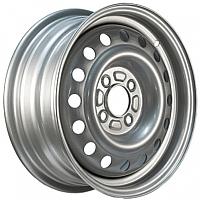 Штампованный диск Trebl 8690T 6x15 4x108мм DIA 65.1мм ET 27мм Silver -