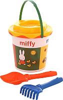 Набор игрушек для песочницы Полесье Миффи-3 №1 / 64714 -