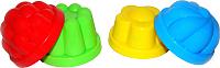 Игровой набор для песочницы Полесье 0781 (4шт) -