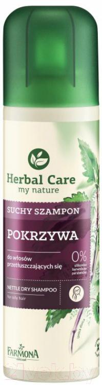 Купить Сухой шампунь для волос Farmona, Herbal Care Крапивный для жирных волос (180мл), Польша