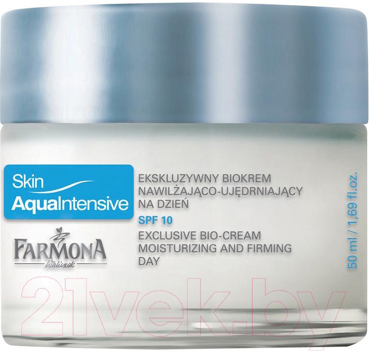 Купить Крем для лица Farmona, Skin Aqua Intensive дневной увлажняющий придающий упругость (50мл), Польша, Skin Aqua Intensive (Farmona)