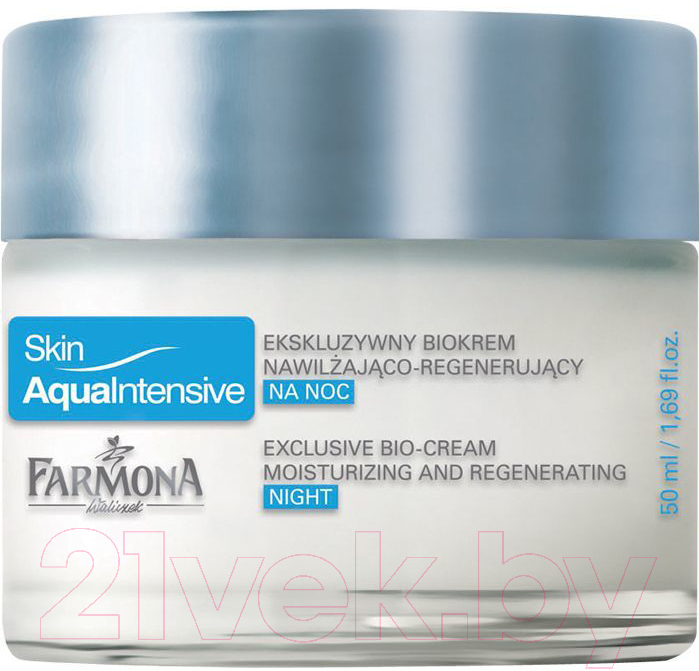 Купить Крем для лица Farmona, Skin Aqua Intensive ночной увлажняющий придающий упругость (50мл), Польша, Skin Aqua Intensive (Farmona)