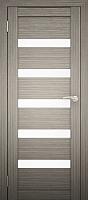 Дверь межкомнатная Юни Двери Амати 03 60x200 (дуб дымчатый/стекло белое) -