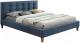 Двуспальная кровать Signal Texas 160x200 (деним) -
