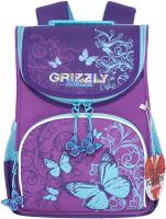 Школьный рюкзак Grizzly RAm-084-9 (фиолетовый) -