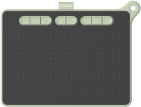 Графический планшет Parblo Ninos M (зеленый) -