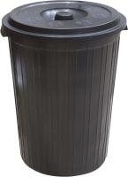 Контейнер для мусора ZETA ПЛ-00463 (75л, черный) -