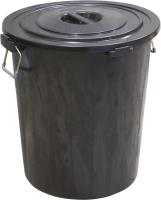 Контейнер для мусора ZETA ПЛИ-09281 (90л, черный) -