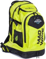 Рюкзак спортивный Mad Wave Lane (желтый) -