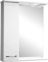 Шкаф с зеркалом для ванной Tivoli Прима 60 L / 461777 (с подсветкой) -