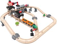 Железная дорога игрушечная Hape Горный погрузчик / E3756-HP -