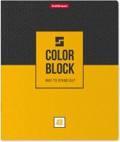 Тетрадь Erich Krause 3D Color Block / 49578 (48л, клетка) -