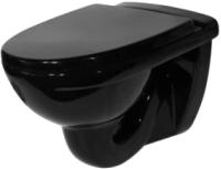 Унитаз подвесной Оскольская керамика Престиж (черный) -