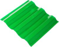 Шифер прозрачный Ondex Ecolux 2000x1095мм 70/18 трапеция (прозрачный зеленый) -