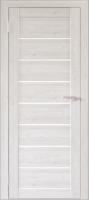 Дверь межкомнатная Юни Двери Бона 01 60x200 (лиственица сибиу/стекло белое) -