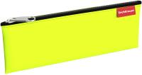 Пенал Erich Krause Neon Green / 49047 (желтый) -