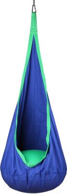Гамак-качели Indigo IN184 (синий/зеленый)