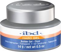 Моделирующий гель для ногтей IBD Builder Gel Clear конструирующий прозрачный (14г) -