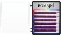 Ресницы для наращивания Bombini Holi D-0.07-mix (6 линий, фиолетовый) -