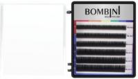 Ресницы для наращивания Bombini Holi D-0.07-mix (6 линий, черно-фиолетовый) -