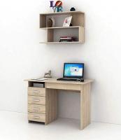Комплект мебели для кабинета MFMaster Милан УШ-1-04 / Милан-1-04-ДС-16 (дуб сонома) -