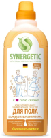 Чистящее средство для пола Synergetic Биоразлагаемое. Цитрусовая свежесть (750мл) -