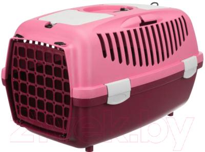 Переноска для животных Trixie Traveller Capri I 39819 (ягодный/розовый)