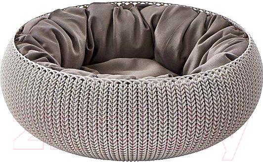 Купить Лежанка для животных Curver, Knit Cozy Pet Bed-Foggry, Польша