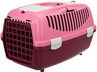 Переноска для животных Trixie Traveller Capri I 39829 (ягодный/розовый) -