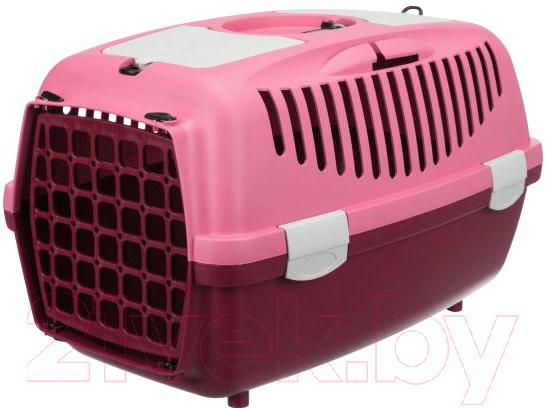 Купить Переноска для животных Trixie, Traveller Capri I 39829 (ягодный/розовый), Германия, пластик