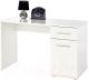 Компьютерный стол Halmar Lima B1 (белый) -
