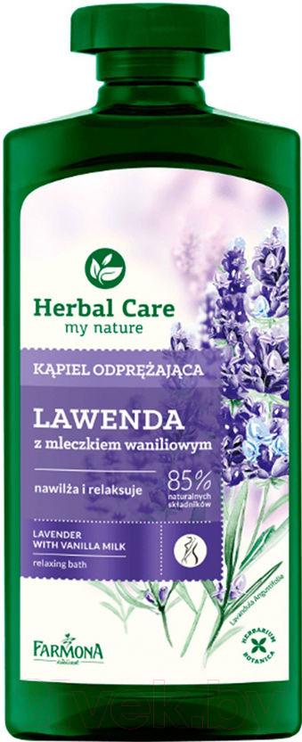 Купить Гель для душа Farmona, Herbal Care Лаванда и ванильное молочко релаксирующий (500мл), Польша