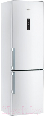 Холодильник с морозильником Whirlpool WTNF 923 W