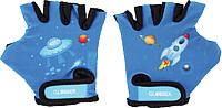 Перчатки велосипедные Globber 528-100 (ХS, синий) -