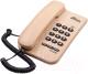 Проводной телефон Ritmix RT-320 (светлое дерево) -