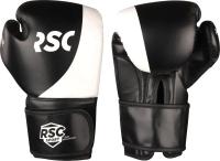 Боксерские перчатки RSC Power Pu Flex SB-01-135 (р-р 12, черный/белый) -